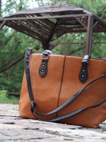 Women Hand Bag Brown Online Shopping 1Clicknpick