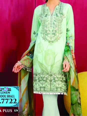 Iznik Linen Dress for women Online Shopping Kharian Pakistan wool shawl e